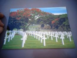 Philippines : The American Memorial Cemetery : Cimetière Mémorial Américain - Etats-Unis