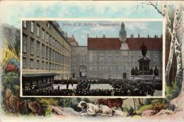 Wien K.K. Hofburg  Fransenplatz 1913 - Vienna Center