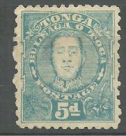 Tonga Neufs Avec Charniére   KING GEORGE II 1895 - Tonga (1970-...)