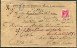 1896 Sweden Sodermanlands Enskilda Bank Katrineholm Cover