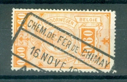 """BELGIE - OBP Nr TR 142 - Cachet  """"CHEM. DE FER DE CHIMAY""""  - (ref. 3554) - Chemins De Fer"""