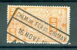 "BELGIE - OBP Nr TR 142 - Cachet  ""CHEM. DE FER DE CHIMAY""  - (ref. 3554) - Railway"