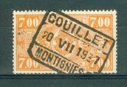 """BELGIE - OBP Nr TR 159 - Cachet  """"COUILLET-MONTIGNIES""""  - (ref. 3556) - Spoorwegen"""