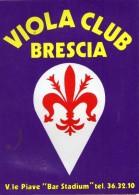 ADESIVO-BRESCIA VIOLA CLUB - Autocollants