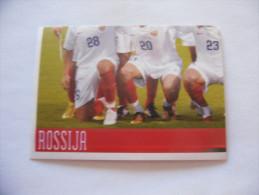 FIGURINA PANINI CALCIATORI EURO 2008 NUOVA N.439 ROSSIJA - Panini