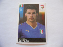 FIGURINA PANINI CALCIATORI EURO 2008 NUOVA N.290 BARZAGLI - Edizione Italiana