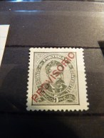 Portugal 1892-3  5R Black Overprinted Provisorio Mint SG 284 - Unused Stamps