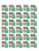 VIGNETTES ARPHILA  JUIN 1975 - FEUILLE DE 30  TB  COULEUR VERTE - Philatelic Fairs