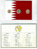 BAHREIN, 5 + 10 + 25 FILS Vergoldet; Diese Münzen Sind Garantiert Echt Und Zusätzlich Vergoldet, Hochglanz (PP) >>> - Bahrain