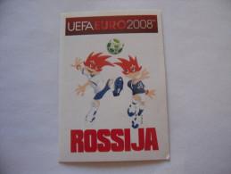 FIGURINA PANINI CALCIATORI EURO 2008 NUOVA N.436 ROSSIJA - Edizione Italiana