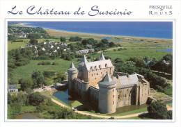 Le Château De Suscinio (Sarzeau-Morbihan)-Presqu ´île De Rhuys-Ancienne Résidence Des Ducs De Bretagne-Photo Y. Le Gal - Sarzeau