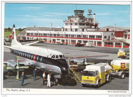 THE AIRPORT   - JERSEY   C. I.   -   AVION  -    CAMIONS   -   - N°  2 J 11 . - 1946-....: Moderne