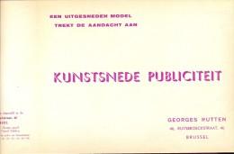 Pub . Reclame Kunstsnijwerk Georges Rutten - Brussel - Betterfood - Imperial Stout - Publicidad