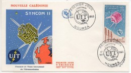 NOUVELLE CALEDONIE - FDC PA 80 - Espace - Space - FDC