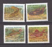 Sri Lanka 1990 Fishes MNH (T1156) - Fische