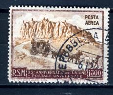 1950 - SAINT-MARIN - SAN MARINO - A95 ( F.to Biondi ) - Dent. 13 ¼ X 14 -  Used/NT - (PG02092014.....) - Luchtpost