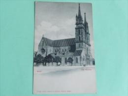 BASEL - Das Munster - BS Basle-Town