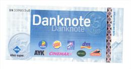 Aral - Danknote über 0,98 DM Bzw. 50 Cent - Other