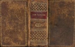 CODE NAPOLEON - 1810 - Edition originale et seule officielle - ETAT EXCEPTIONNEL - Vois scans et descriptif