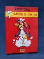 5 Histoires De Lucky Luke édition Publicitaire Je Lis Des Histoires Vraies Petit Format - Lucky Luke