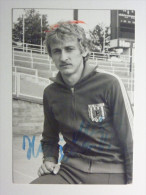 Football / Fußball. SC Einheit Dresden West German / DDR - Autographed Photograph 14 X 10 Cm. - Autographes