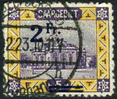 Saar #96 Used 2fr On 25m From 1921 - 1920-35 Saargebiet – Abstimmungsgebiet
