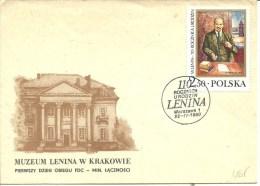 DFC 1980 LENIN - FDC