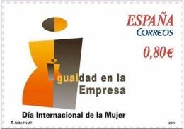 2011 - SPAGNA / SPAIN - GIORNATA DELLA DONNA / DAY OF WOMAN. MNH - 2011-... Nuovi & Linguelle