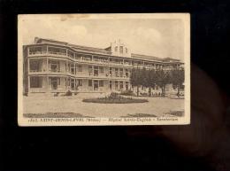 SAINT ST GENIS LAVAL Rhône 69 : Hopital Sainte Eugénie Sanatorium  ( Défauts ) - Francia