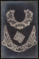 CARTE PHOTO ARGENTIQUE - DENTELLES DES FLANDRES - LACE - KANT - 19th Century - 19ème Siecle - Ambachten