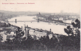 PC Budapest - Panorama - 1903 (8325) - Ungarn
