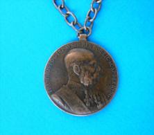 FRANZ JOSEPH - SIGNUM MEMORIAE 1848-1898. Austria-Hungary Vintage Bronze Medal * K.u.K. Empire Monarchy Osterreich - 1914-18