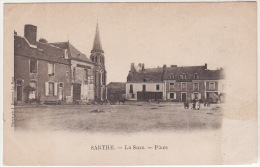 LA SUZE -  Place ,animée (voir Descriptif) - La Suze Sur Sarthe