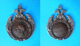 ALBANIAN COMMEMORATIVE MEDAL - Kingdom Of Yugoslavia Vintage Medal * Serbia Albanska Spomenica Albania Medaille Medaglia - 1914-18