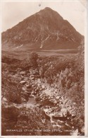 PC Buchaille Etive From Glen Etive - Argyll  (8335) - Argyllshire