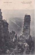 AK Prebischtorkegel - Die Kraxler Seilen Sich Ab - Ca. 1910 (8338) - Tschechische Republik