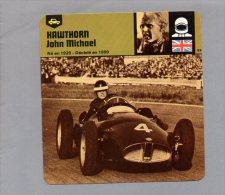 TH2014090156 Fiche Pilote Automobile HAWTHORN JOHN MICHAEL - Sport Automobile