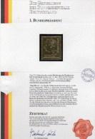 Raritäten In Gold BRD 189 ** 50€ Porträt 1.Präsident Th.Heuss Edition Deutschland Mit 23 Karat Feingold Stamp Of Germany - BRD
