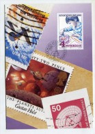 SWEDEN - AK205894 MC No.27 The Stamp Collector - Maximum Cards & Covers