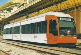 ESPAGNE : ALICANTE Tramway CAF  En Gare D´ALBUFERETA - Détails  2ème Scan - Tramways