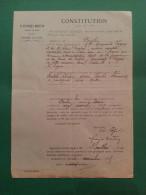 ST CIRGUES SUR COUZE 63 ET SAUVAGNAT STE MARTHE 63 ( ANATOLE CHALEIX ET MARGUERITE FARGEIX ) 1929 - Cartes