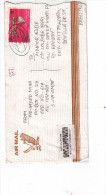COMMERCIAL USED COVER OF OMAN TO BANGLADESH, REGISTERED, VERY RARE,SEE SCAN COPY - Oman