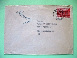Switzerland 1963 Cover Sent Locally - Train Bridge - Lettres & Documents