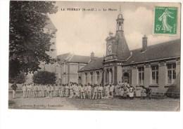 C P A-----78---------LE PERRAY-------------la Mairie------voir 2 Scans - Le Perray En Yvelines