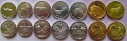 Nagorno-Karabakh Set Of 7 Coins 2013 (2x50 Luma + 3x1 Dram + 2x5 Dram ) UNC - Nagorno-Karabakh