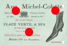 SPA / 1915 Maison Aug. Michel - Colette Chaussures - Pubblicitari