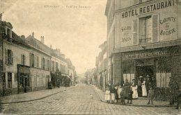 ERMONT - Rue De Sannois - Hôtel Restaurant Maison TAFFOUREAU, Animé - Ermont