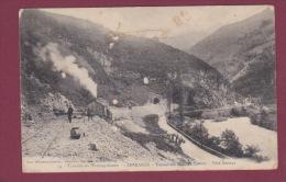 64 - 020914 - SARRANCE - Travaux Du Transpyrénéen - Tunnel Du Mail De Couret - Tête Bedous - Chemin De Fer - Frankrijk