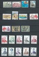 Espagne - 1978 - Y&T 2119/25 + 2135/48 - Neuf ** - 1971-80 Unused Stamps