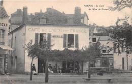 """¤¤  -   PORNIC  -  Le Café De L'Ecu De France , Maison """" Alfred RENOU """" Place Du Môle, Voir Le Dos   -  ¤¤ - Pornic"""